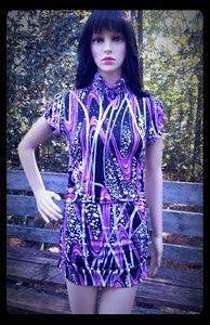 Kupcake Ruched Mini Dress - Size M